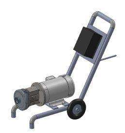 Ampco AC+328MD18T-S-VFD Beer Cart
